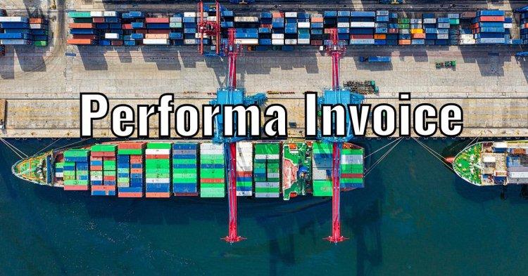 Performa Invoicing